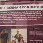 Germans in Britain exhibition.